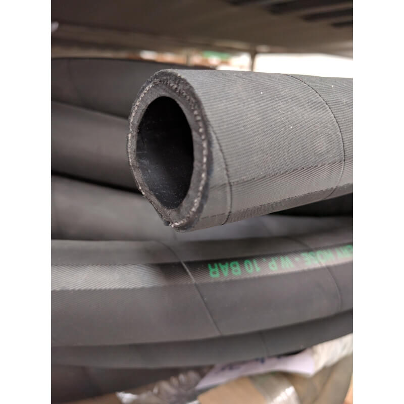 Tubo flessibile in gomma 10 bar per mandata acqua e aria for Materiale del tubo della linea d acqua